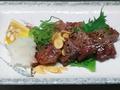 料理メニュー写真佐賀和牛の炙り