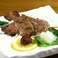 料理メニュー写真極上錦雲豚の厚切り極上バラ串 二本