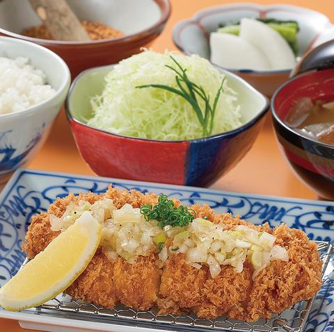 【ランチ】葱塩だれ膳ランチ 1,080円
