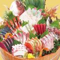 料理メニュー写真大漁盛り(十二種盛り)