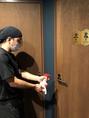 【感染症対策】設備や備品など、人が触れる場所を徹底して除菌・消毒致します。