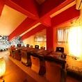 ◆和モダン◆ 10~14名用 このお部屋は完全個室ですがカラオケはございません。
