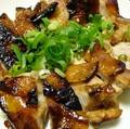 料理メニュー写真鶏もものたれ焼き