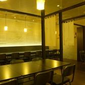 個室席の壁を取り外し、オープンスペースに!
