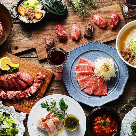 こだわりのしゃぶしゃぶや焼肉を南国リゾートでお楽しみ下さい!