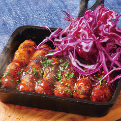 料理メニュー写真USA ジミーソーセージ