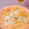 クワトロフォルマッジ(4種のチーズのピザ)