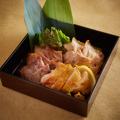 料理メニュー写真熟成肉 3種盛り合わせ ~塩・わさび・マスタードで~