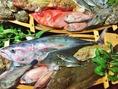 拘りの食材はすべて独自の仕入れルートで仕入れ。魚の鮮度と種類に自信あり!!是非お試しあれ!!!