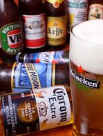各国のクラフトビールを豊富に取り揃えています!
