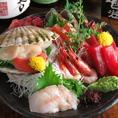 店主が厳選した鮮魚のご用意もございます。日本酒との相性も◎