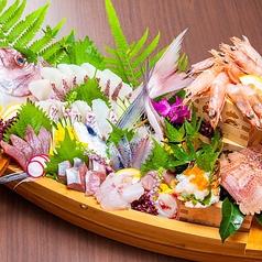 青島海鮮料理 魚益の特集写真