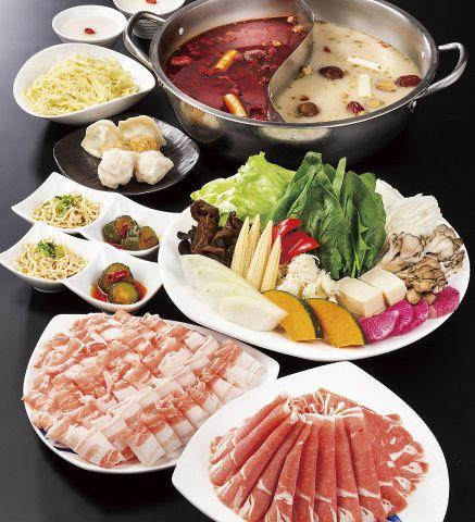 【満喫コース】バラエティ豊かな食材を楽しめる!男性も満足のボリューム満点コース