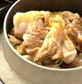 料理メニュー写真創味名物 播州百日鶏 釜めし