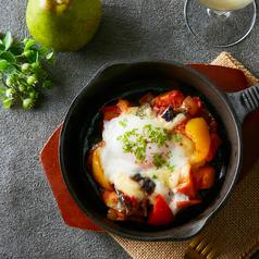 料理メニュー写真カポナータグラタン