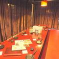 12名様までご利用可能な掘りごたつ個室。少し大人数での女子会や誕生日会などにぜひご利用ください☆当店自慢の日本酒、新鮮かつ旬の魚を使ったお料理と合わせて、楽しい時間をお過ごしください!【四条烏丸/居酒屋/宴会/個室/飲み放題/日本酒/和食/魚/女子会/記念日/誕生日/おしゃれ】