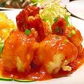 料理メニュー写真大海老の二色盛り合わせ