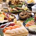 お寿司以外にも、旨くてリーズナブルな単品メニューを豊富にご用意いたしました!定番の居酒屋メニュー他、お寿司によく合う赤だしなどの汁物やデザートまで多数取り揃えております。