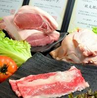 岡山県産、地元の味をふんだんに使ったメニューあり!