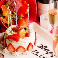 名駅店特製ケーキあげる♪女子会・誕生日におすすめ♪