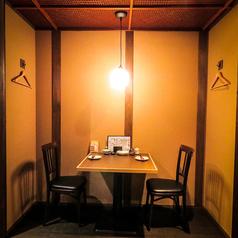 2Fは掘りごたつ個室の他にテーブルもご用意!おくつろぎ頂ける空間をご用意しております!