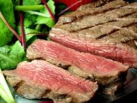 本日のおすすめ料理より牛フィレ肉のステーキ