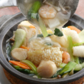 新鮮魚介たっぷりの海鮮おこげ!アツアツのあんに絡めて食べる香ばしいおこげが絶品!