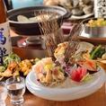 【系列店:贔屓(国分町)】貝を使用したお料理が自慢のお店。名物は年代別の「ハマグリ」。大きさや味の違いをお楽しみいただけます。貝料理を中心としたお料理が自慢で、お刺身や串焼き、おでんなどがございます。その他にも魚介を使用したお料理やお肉料理など豊富にご用意しております。コースは飲み放題付きで4000円~