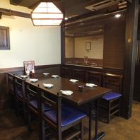テーブル席★品川駅港南口1分の大人居酒屋★
