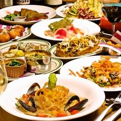 Grill&Pasta es エスのコース写真