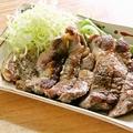 料理メニュー写真味豊豚のトンテキの自家製タレ焼き