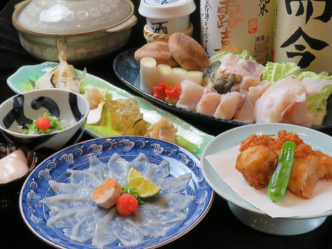 季節感あふれる旬の食材を使った和食と【全国各地の地酒・本格焼酎】を味わえるお店