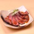 料理メニュー写真ローストビーフの冷製ガーリックソース