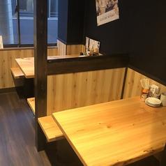 3階は3人テーブル1つ、4人テーブル1席、6人テーブル3席、8人テーブル1席がございます。禁煙フロアとなります!