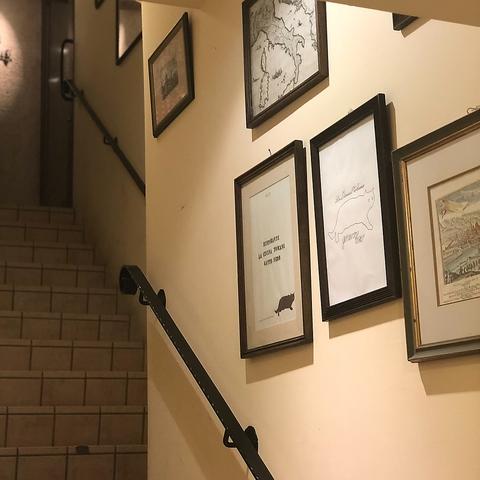 路地裏の2階にひっそりと…大切な方とのひと時をイタリアンと共にお楽しみください