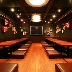 大堀座敷席 4~32名席大型宴会に☆32名様用の個室としても利用可能です。