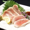 料理メニュー写真淡路鶏のタタキ