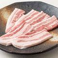 料理メニュー写真国産もち豚カルビ