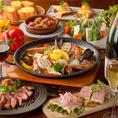 【系列店:ESPAL MADOR(仙台駅前)】東北魚介×スパニッシュ料理が楽しめるお店で。名物は「パエリア」お米を炊くパエリアか短いパスタを使用した本格的なフィディウアがございます。その他にも気軽にお召し上がりいただけるタパスや、鉄板焼き、季節のおすすめ料理など旬の素材を使用したお料理を味わっていただけます!