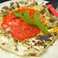 料理メニュー写真特選!霜降り馬刺し/お餅のピザ(レッド)/お餅のピザ(ブラック)
