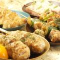 料理メニュー写真ねぎま/厚切りベーコン/ピリ辛ソーセージ/鶏ネギ塩/せせり/鶏チーズ/