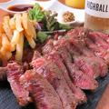 料理メニュー写真1ポンドUS牛ステーキ
