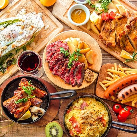 ★横浜で話題沸騰中★肉バル『GABURI』シェフこだわりの絶品肉料理が楽しめる♪