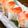 料理メニュー写真サーモン寿司
