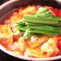 料理メニュー写真ホルモン純豆腐鍋 ビッグ(3~4人前)