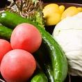 安心・安全の野菜を季節により仕入れます