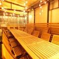 ■4F■テラス席で貸切宴会にピッタリ!少人数からOKなので、いろいろな用途に◎