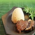 料理メニュー写真もみじ饅頭揚げっ アイスクリーム添え(バニラ/チョコ/抹茶)