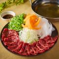料理メニュー写真【熟成肉】牛しゃぶしゃぶ 1人前