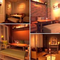 個室は雰囲気の異なる全4室。あなただけの特別感を演出!